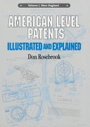 American Level Patents Illustrated And Explained