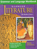 Glencoe Literature, World Literature, Grammar and Language Workbook