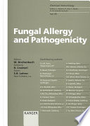 Fungal Allergy and Pathogenicity