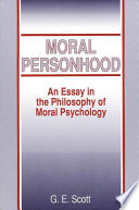 Moral Personhood Book PDF