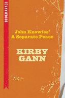 Pdf John Knowles' a Separate Peace