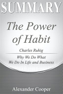 Summary of The Power of Habit Pdf/ePub eBook