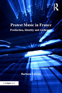 Pdf Protest Music in France Telecharger