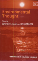 Environmental Thought Book PDF