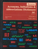 Reverse Acronyms  Initialisms and Abbreviations Dictionary