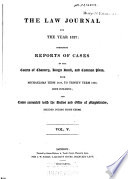 The Law Journal ...