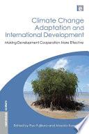Climate Change Adaptation and International Development Book