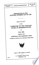 Immigration in the National Interest Act of 1995