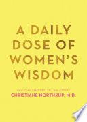 A Daily Dose of Women s Wisdom Book