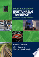 Building Blocks For Sustainable Transport Book PDF