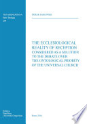 The Ecclesiological Reality Of Reception