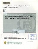 Biomass Management Zones and New Pathways to Bioenergy Book