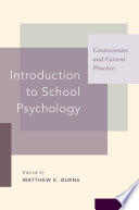 Introduction to School Psychology Book