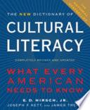 The New Dictionary of Cultural Literacy by Eric Donald Hirsch,Joseph F. Kett,James S. Trefil PDF