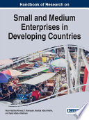 Handbook Of Research On Small And Medium Enterprises In Developing Countries