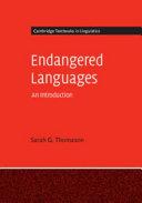 Endangered Languages Book