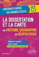 Pdf La dissertation et la carte en histoire, géographie et géopolitique Telecharger