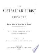 The Australian Jurist Reports