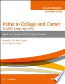 English Language Arts  Grade 8 Module 1 Book