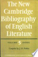 The New Cambridge Bibliography of English Literature: Volume 5, Index