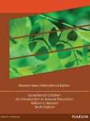 Exceptional Children  Pearson New International Edition