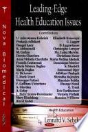 Leading Edge Health Education Issues