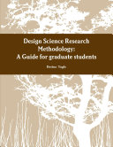 A Design Science Research Methodology Guide for graduate students