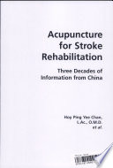 Acupuncture for Stroke Rehabilitation