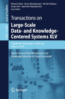 Transactions on Large Scale Data  and Knowledge Centered Systems XLV