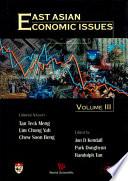 East Asian Economic Issues