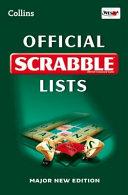 Collins Official Scrabble Lists