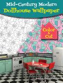 Mid Century Modern Dollhouse Wallpaper