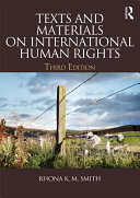 Texts and Materials on International Human Rights
