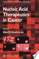Nucleic Acid Therapeutics in Cancer Book