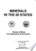 Minerals in the 50 States