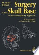 Surgery of the Skull Base