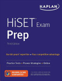 link to HiSET exam prep : practice tests + proven strategies + online. in the TCC library catalog