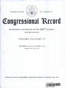 Congressiona Record