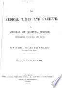 The Medical Times And Gazette Book PDF