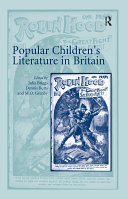 Pdf Popular Children's Literature in Britain Telecharger