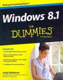 Windows 8 1 For Dummies Book   DVD Bundle