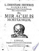 De miraculis mortuorum