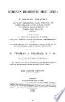 Modern Domestic Medicine  etc  Eighth edition