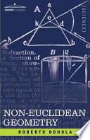 Non Euclidean Geometry Book