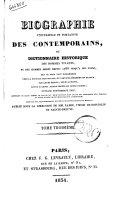 Biographie Universelle et Portative