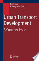 Book Cover: Urban Transport Development