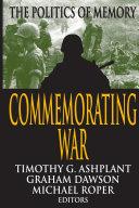 Commemorating War