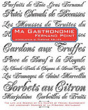 Ma Gastronomie. Fernand Point