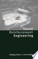 Sound Reinforcement Engineering Book