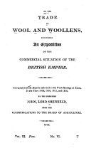 Pdf On the Trade in Wool and Woollens